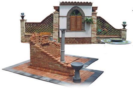 Bioedilizia romano for Arredo giardino in cemento